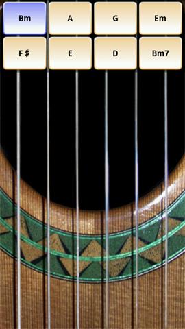 Xperia(エクスペリア)でギターが演奏できるSoloの起動画面