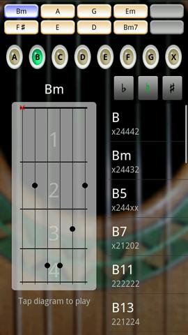 Xperia(エクスペリア)でギターが演奏できるSoloはコードの編集機能がある